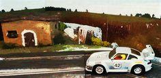 Porsche 911 (SCX) at my Slot Car Track  #porsche #911 #germancar #slotcartrack #slot #hobby #scenary #slotcar #alotslot #scalextric #scx #ninco #carrera #slotit #rally #rallycar #racing #race #dreamcar #wrc #gp #gt #f1 #wec #lemans #diorama #scale132 #hobby #modelism #diecast #miniature #toy #modelcar #motor #motorsports #house #picture #painting #art #frame