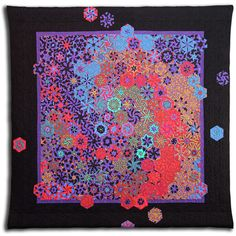 Wow. To quilt like this...to dream beneath the cosmos...