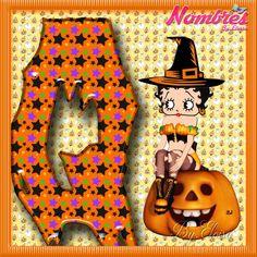 "Nombres "" Eloisa "": ABC Halloween Betty Boop 2"