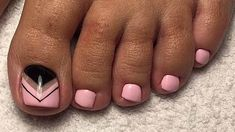 20 cute & easy toenail designs mani/pedi toe nail designs, t Toe Nail Designs, Simple Nail Designs, Cute Toenail Designs, Toenail Polish Designs, Toe Nail Art, Nail Nail, Acrylic Nails, Us Nails, Nails 2016