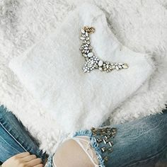 Snow White Statement Necklace - #fashion #ootd #fashionista - 24,90€ @happinessboutique.com