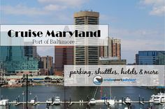 Check out our Baltimore Cruise Info - a great port to #cruise from.  http://cruiseportadvisor.com/port/baltimore-md-port-of-baltimore/  #cruiseportinfo
