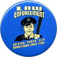 Law Enforcement Tattoo Onemillion Tags People Public Look (www.tattoopins.com)
