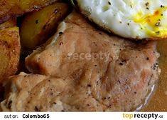 Vepřové karé na česneku Mashed Potatoes, Food And Drink, Ethnic Recipes, Whipped Potatoes, Smash Potatoes