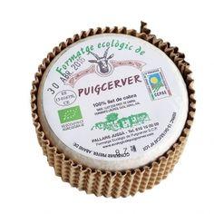 "Queso de Cabra ""Puigcerver"" de Producción Ecológica (Pieza entera 500gr) Lleida"