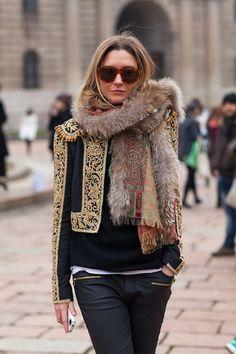 Street style - Gafas de sol Wayfarer - Wayfarer sunglasses