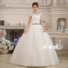 Free Shipping New 2015 fashion women vestido de noiva High-quality Sexy princess dress bridal gown princess wedding dress 2015