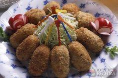 Receita de Croquete de carne com pimenta em receitas de salgados, veja essa e outras receitas aqui!