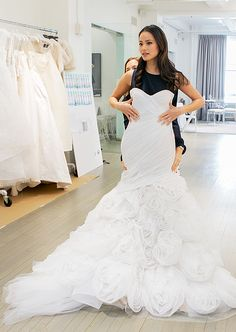 Jamie Chung's Bridal Fashion Week Diary - The Princess Moment from #InStyle