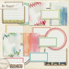 Be Happy! (journal pack)