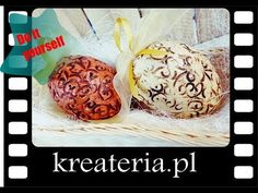 Jajka wielkanocne - imitacja starej ceramiki - KreaCraftShow80 - YouTube Youtube, Dress, Vintage, Eggs, Dresses, Vestidos, Vintage Comics, Youtubers, Gown