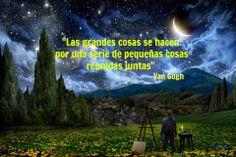 Conoce las mejores frases del famoso pintor Vincent Van Gogh: http://www.1001consejos.com/frases-de-van-gogh/