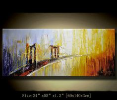 art painting landscape Original Abstract Painting by xiangwuchen