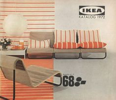 IKEA Catalogs from the past to the present, in fact, reveals the direction of decoration trends. Furniture Catalog, Furniture Ads, Apartment Furniture, Unique Furniture, Furniture Design, Furniture Buyers, Furniture Websites, Furniture Online, Furniture Stores
