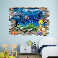 A beautiful wall decal give your room a refreshing look! Highlights  Easy to apply, remove, reposition, and reuse without leaving damage or residue. Ideal for d