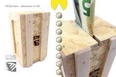 Art Design Factory - Product - PAC(k) Bank, Art Design Factory piggy bank