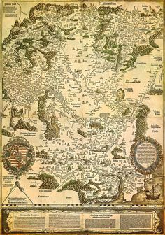 Kingdom of Hungary Map, somewhere between 1526-1528 |via Wikipedia