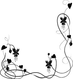 wedding clip art black and white border clipart panda free rh pinterest com
