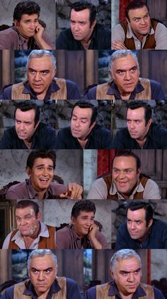 "Little Joe: ""I've never seen him so upset."" Adam: ""Pa's got quite a problem."" Little Joe: ""He's got a tiger by the tail is what he's got!"" Adam: ""There's a great sense of responsibility. I mean, the chief doesn't give gifts lightly."" Hoss: ""That's some gift. I'll bet this ends Pa's annual cultural trek to the Paiute nation."" Little Joe: ""I don't know. I think Pa will probably return the favor next year, bring the chief something nice like a lighted stick of dynamite."" From Love Me Not…"