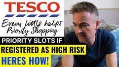 TESCO Shopping Online Priority Slots and Registering as High Risk. Tesco Shopping, Tesco Home, People Online, High Risk, Priorities, Vulnerability, Slot, Delivery, Type 1