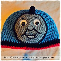 damn it Janet, let's crochet!: Thomas beanie and amigurumi