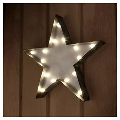 Star Small Marquee Light 13.5""