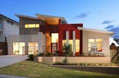 estilos-de-fachadas-de-casas-de-dos-pisos-con-jardin