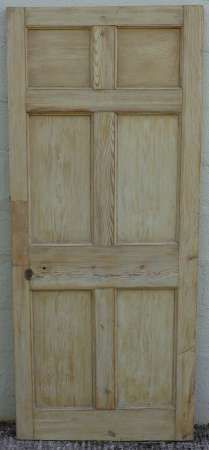 Charmant 6 Panel Pine Doors U2013 Abergavenny Reclamation
