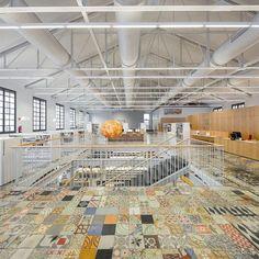 Modern Interiors Design : Biblioteca Can Manyer Vilassar de Dalt 2014 design by DFT arquitectos via archil