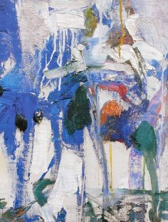 JOAN MITCHELL, 'Untitled', 1963, oil on canvas, 108 x 79 1/2 in, estate of Joan Mitchell