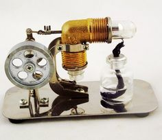 Kit To Build Hot Air Stirling Engine Stirling And