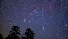Hoje à noite, a chuva de meteoros Lirídeos atinge a sua intensidade máxima. O pico é esperado às 18 horas UT.