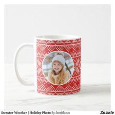Sweater Weather | Holiday Photo Coffee Mug