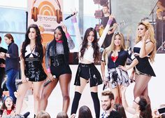 Fifth Harmony perform on NBC's Today show in NYC - 7/10