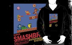 "Super Smash Bros. ""Retrofied"" by MopOfVirtue"
