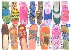 Sandalias de cartón Sandalias con trapillo o camiseta Cómo decorar las sandalias caseras Cómo hacer sandalias de verano Sandalias ...
