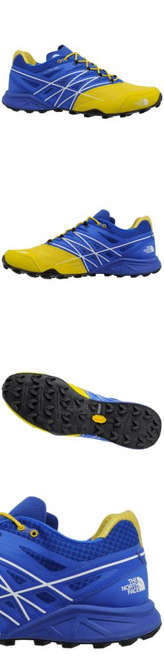 Men 158952: New The North Face Mens Ultra Mt Trail Running Hiking Shoes : Blue Yellow -> BUY IT NOW ONLY: $73.8 on eBay!