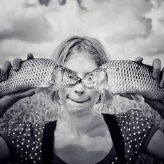 next time you go fishing I expect a picture like this (of course, someone else will have to do the fish holding for you)
