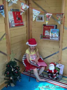 Christmas book nooks - Google Search