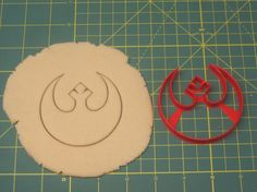 Rebel Alliance Cookie Cutter by on Etsy Star Wars Cookie Cutters, Star Wars Cookies, Empire Cookie, Rebel Alliance, Star Wars Rebels, Cookie Decorating, Handmade Gifts, Stars, Etsy