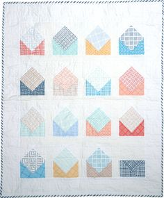 If she sleeps... envelope quilt