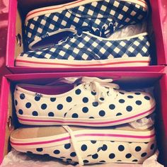 Calm your tired feet this weekend with a pair of Kate Spade inspired Keds! I just got two pairs!
