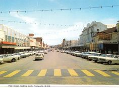 Peel St Tamworth NSW...possibly mid to late 60's....