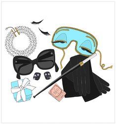 What's in Audrey Hepburn's bag?