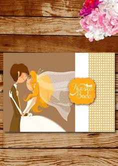 Invitaciones creativas y originales que reflejarán la personalidad de los novios y que encantarán a los invitados.