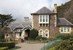 Heronswood house and garden is at Dromana on the Mornington Peninsula, Victoria, Australia