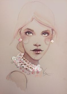 illustration inspired by the pearlescent glow of the Olay Regerist Luminous Collection