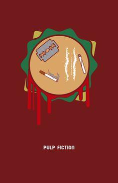 Pulp Fiction. by Titoman, via Behance