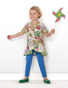 introducing the pinwheel tunic + slip dress sewing pattern | Blog | Oliver + S