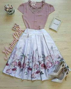 Cute Dresses, Tops, Shoes, Jewelry & Clothing for Women Cute Fashion, Modest Fashion, Fashion Dresses, Vintage Fashion, Womens Fashion, 80s Fashion, Fashion News, Girl Fashion, Mode Outfits
